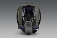 3M+ Medium Ultimate FF FX-400 Full Facepiece With Scotchgard+ Lens Coating