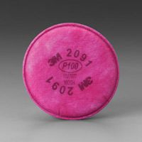 3M+ P100 Filter For 5000 , 6000 And 7000 Series Air Purifying Respirator