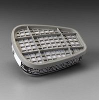 3M+ Low-Maintenance Organic Vapor Cartridge For 6000 And 7000 Series Air Purifying Respirator (APR)