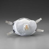 3M+ 8233 N100 Disposable Respirator With Cool Flow+ Exhalation Valve And Face Seal - NIOSH 42CFR84