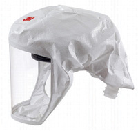 3M+ Medium/Large White S-Series Headcover With Integrated Head Suspension