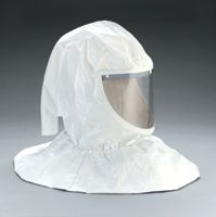 3M+ Tychem+ QC Hood Assembly With Collar And Hard Hat