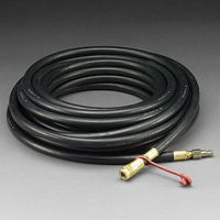 "3M+ 50' Supplied Air High Pressure Hose With 3/8"" ID And International Interchange Fittings On Both Ends"