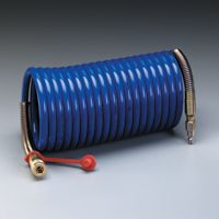 "3M+ Supplied Air Hose High Pressure Coiled 25' 3/8"" ID"