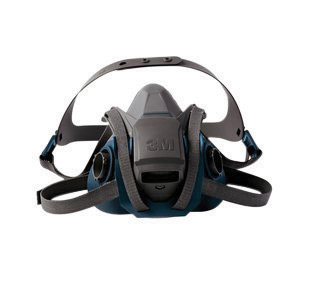 3M Model 6503QL/49492 Large Rugged Comfort Quick Latch Half Facepiece Reusable Respirator