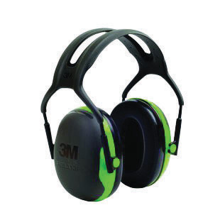 3M� Peltor� Black And Green Model X1A/37270(AAD) Over-The-Head Hearing Conservation Earmuffs