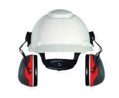 3M� Peltor� Black And Red Model X3P3E/37277(AAD) Cap Mount Hearing Conservation Earmuffs