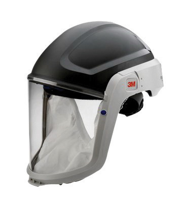 3M� Polycarbonate Respiratory Hard Hat Assembly For 3M� Versaflo� M-100, V Series And TR-300 Full Face Respirator With Premium V
