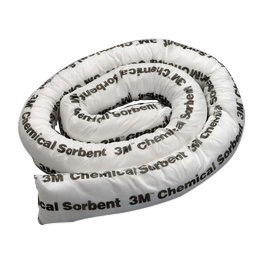 "3M� 3"" X 4' Yellow Polypropylene And Polyester Sorbent Mini-Boom"