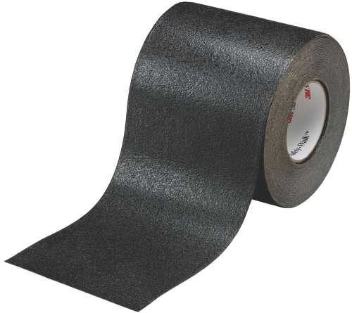 3M� SAFETY-WALK� SLIP-RESISTANT CONFORMABLE TAPES & TREADS 510, BLACK, 4 IN. X 20 YD. ROLL