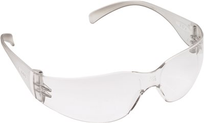 3M VIRTUA SAFETY GLASSES, GRAY FRAME, CLEAR ANTI-FOG LENS