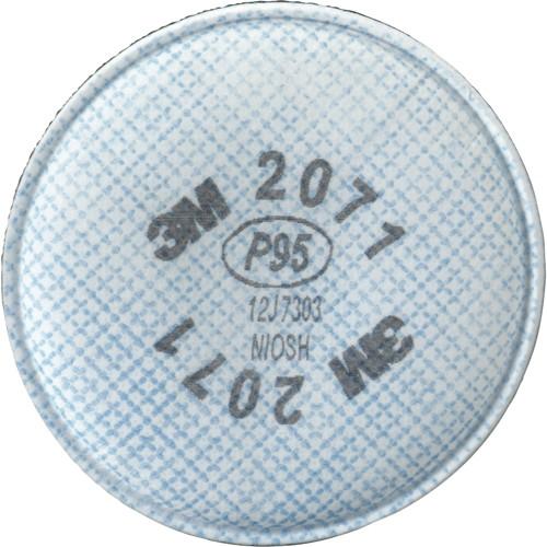 3M 2071 PARTICULATE FILTER, P95, 2 PER BOX