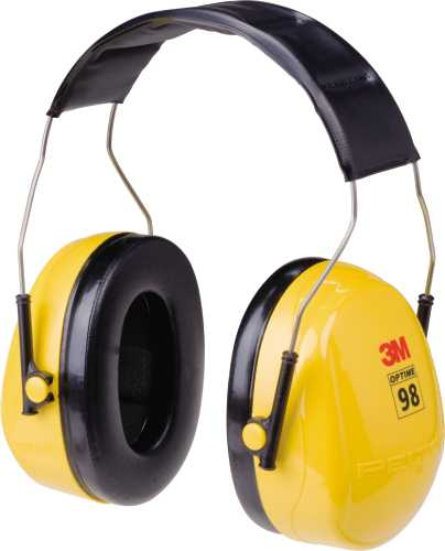 3M PELTOR OPTIME 98 SERIES, EARMUFF, HEADBAND
