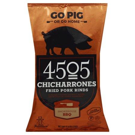 Pork Rinds - Chicharones - Smokehouse Bbq ( 12 - 2.5 OZ )