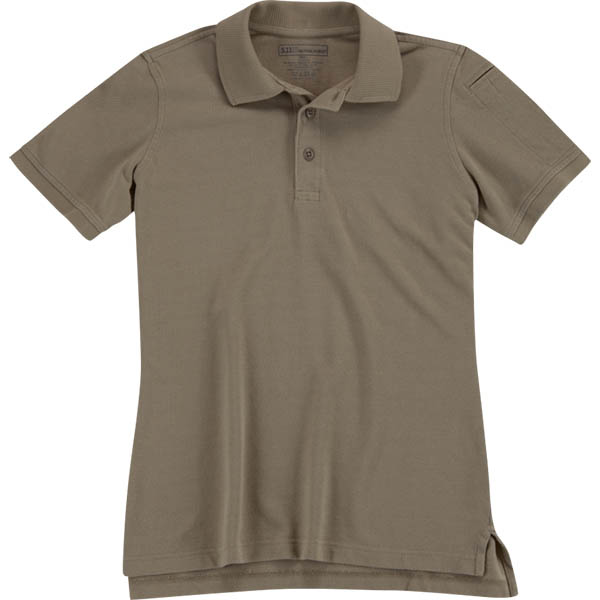 5.11 Women's Utility Polo, Silver Tan, XL