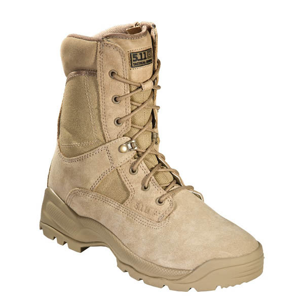5.11 ATAC Coyote 8 in. Side Zip Boot, Coyote, 8 R