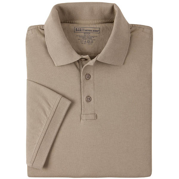 5.11 Women's Tactical Polo, Silver Tan, L