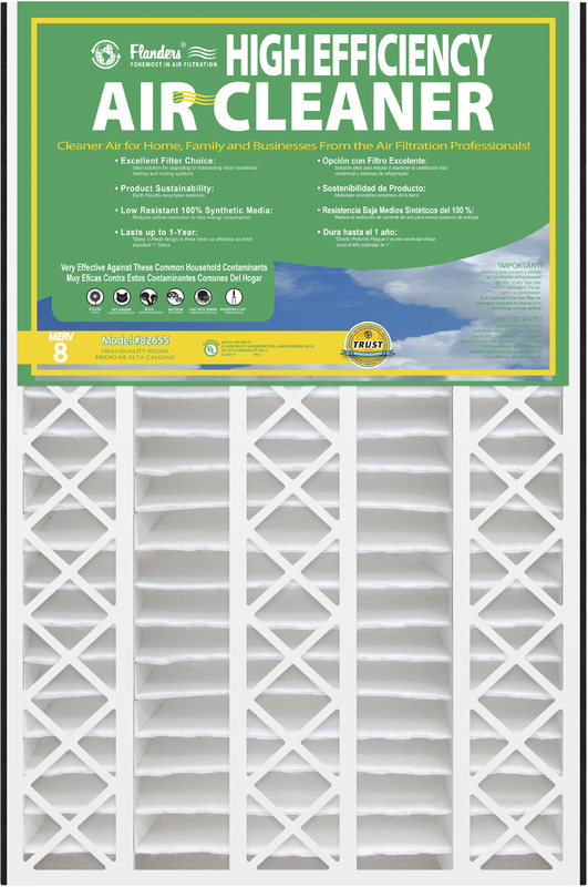16X25X5 AIR CLEANER M8 FILTER