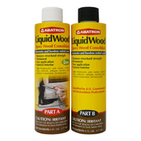 FILLER WOOD LIQUID 12OZ