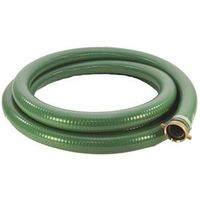 ABBOTT RUBBER 1240-2000-20 Suction Hose, 2 in x 20 ft, Male Threaded x Female Coupling, PVC