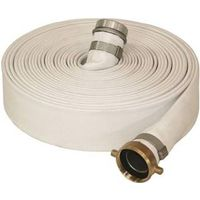 ABBOTT RUBBER 1131-2000-50 Mill Discharge Hose, 2 in x 50 ft, Threaded Male x Female, 100 psi, Synthetic Woven