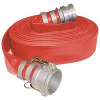 ABBOTT RUBBER 1152-2000-50-CE Heavy Grade Discharge Hose, 2 in x 50 ft, Cam Lock Quick-Connect Male x Female Coupling