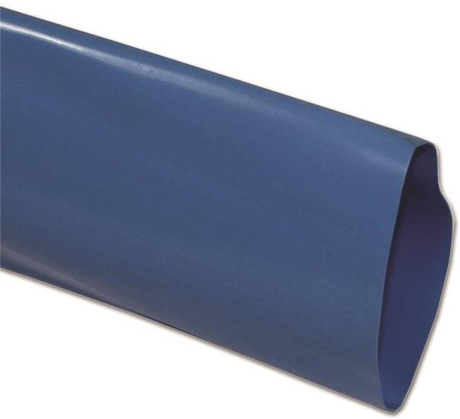 Abbott Rubber RCDV Flat Discharge Hose, 2 in X 150 ft, 65 psi, PVC