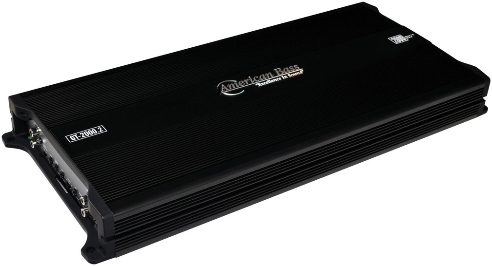 American Bass 2 Channel 2000W Max Amplifier