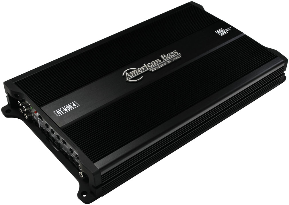 American Bass 4 Channel 950W Max Amplifier