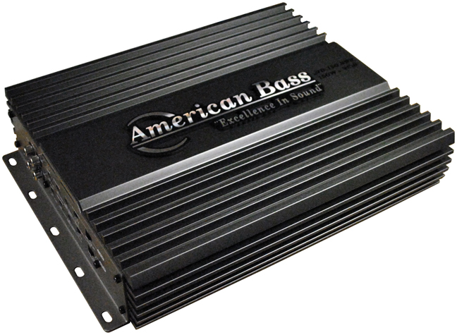 American Bass 4CH 600W Max Amplifier