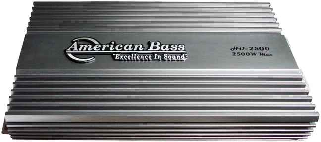American Bass 2500W HD Series Amplifier