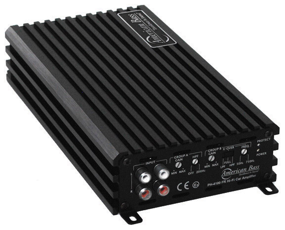 American Bass 4 channel amplifier 480W MAX