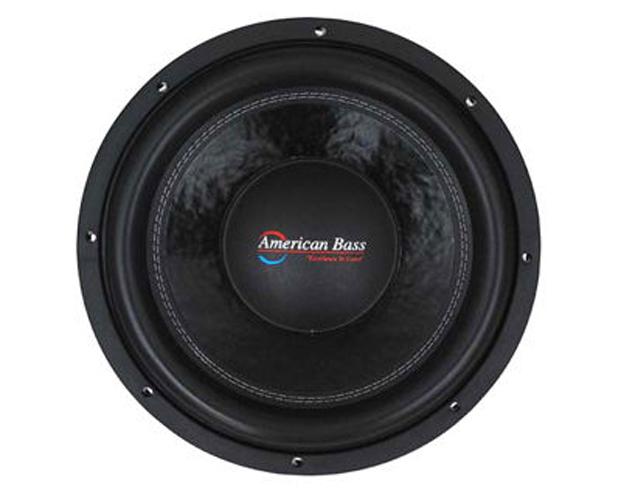 "American Bass 10"" Woofer 2000W Max 2 Ohm DVC"