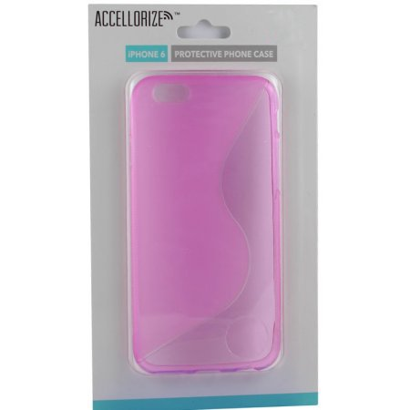 ACCELLORIZE 35000 PINK PROTECTIVE CASE FOR IPHONE 6 MADE OF