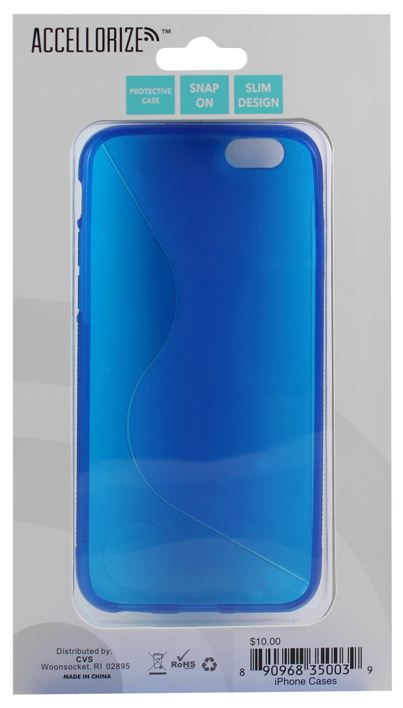 ACCELLORIZE 35003 BLUE PROTECTIVE CASE FOR IPHONE 6 MADE OF