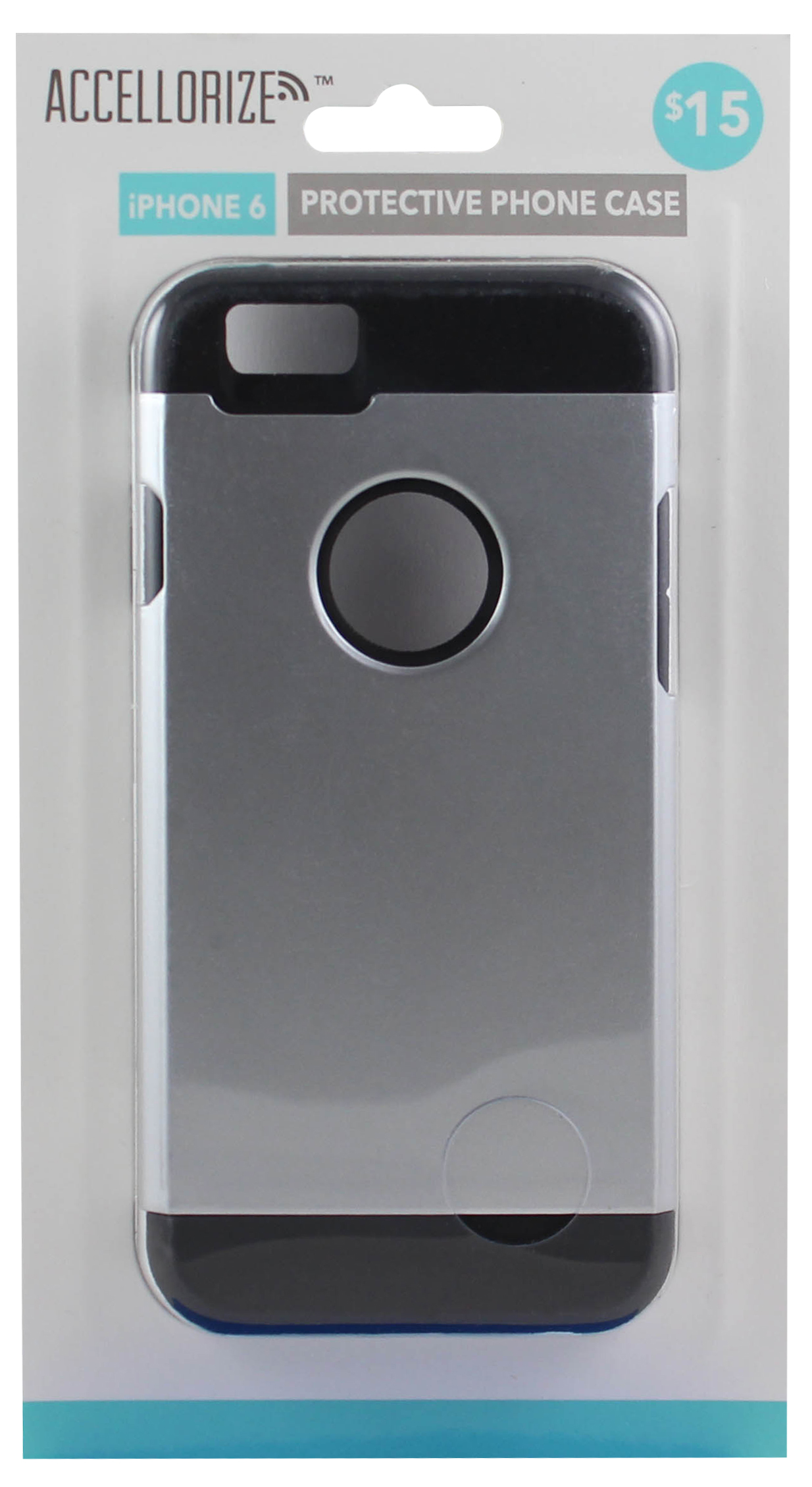 ACCELLORIZE 35006 METAL BLACK PROTECTIVE CASE FOR IPHONE 6