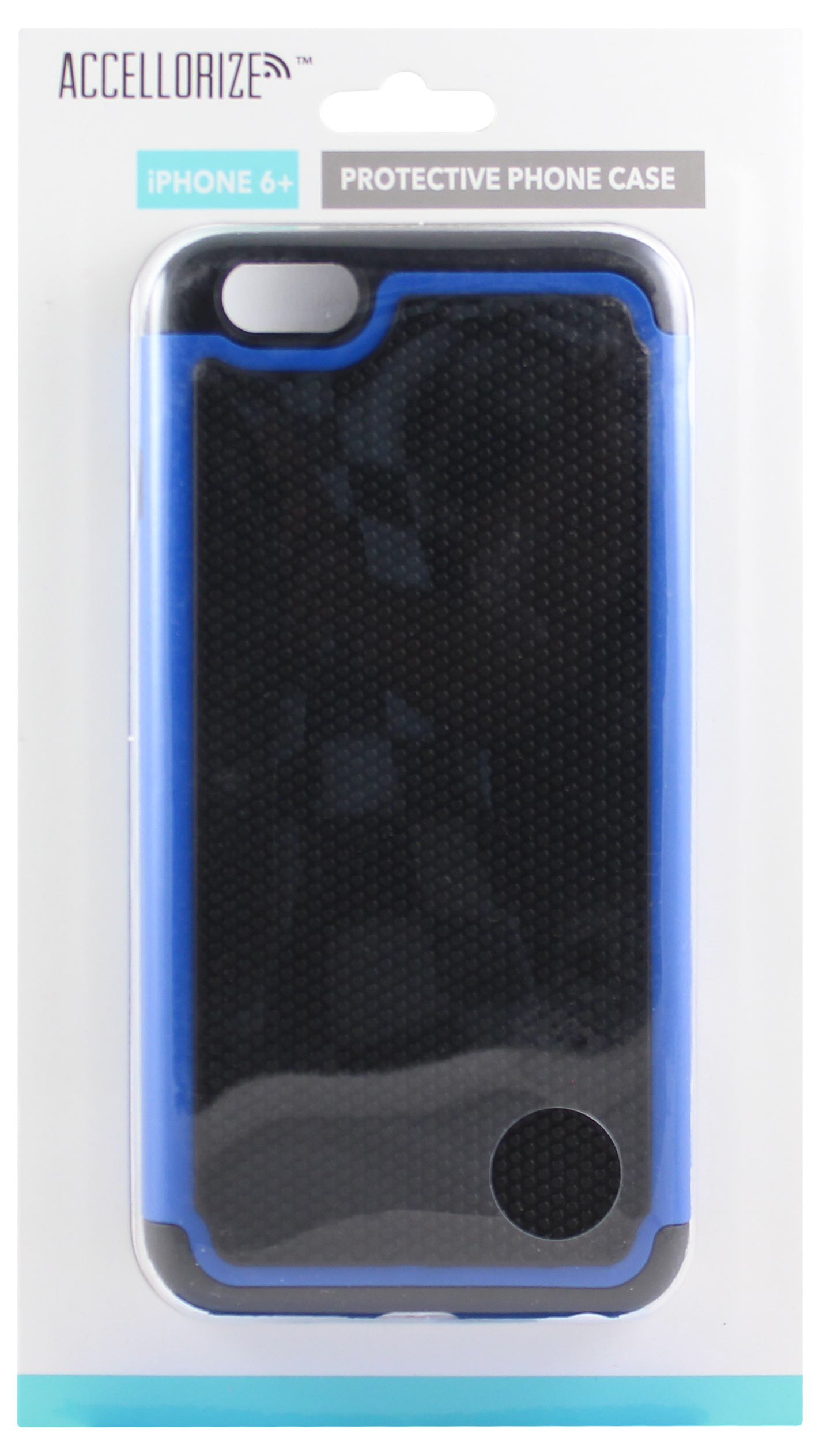 ACCELLORIZE 35013 BLACK & BLUE PROTECTIVE CASE FOR IPHONE 6