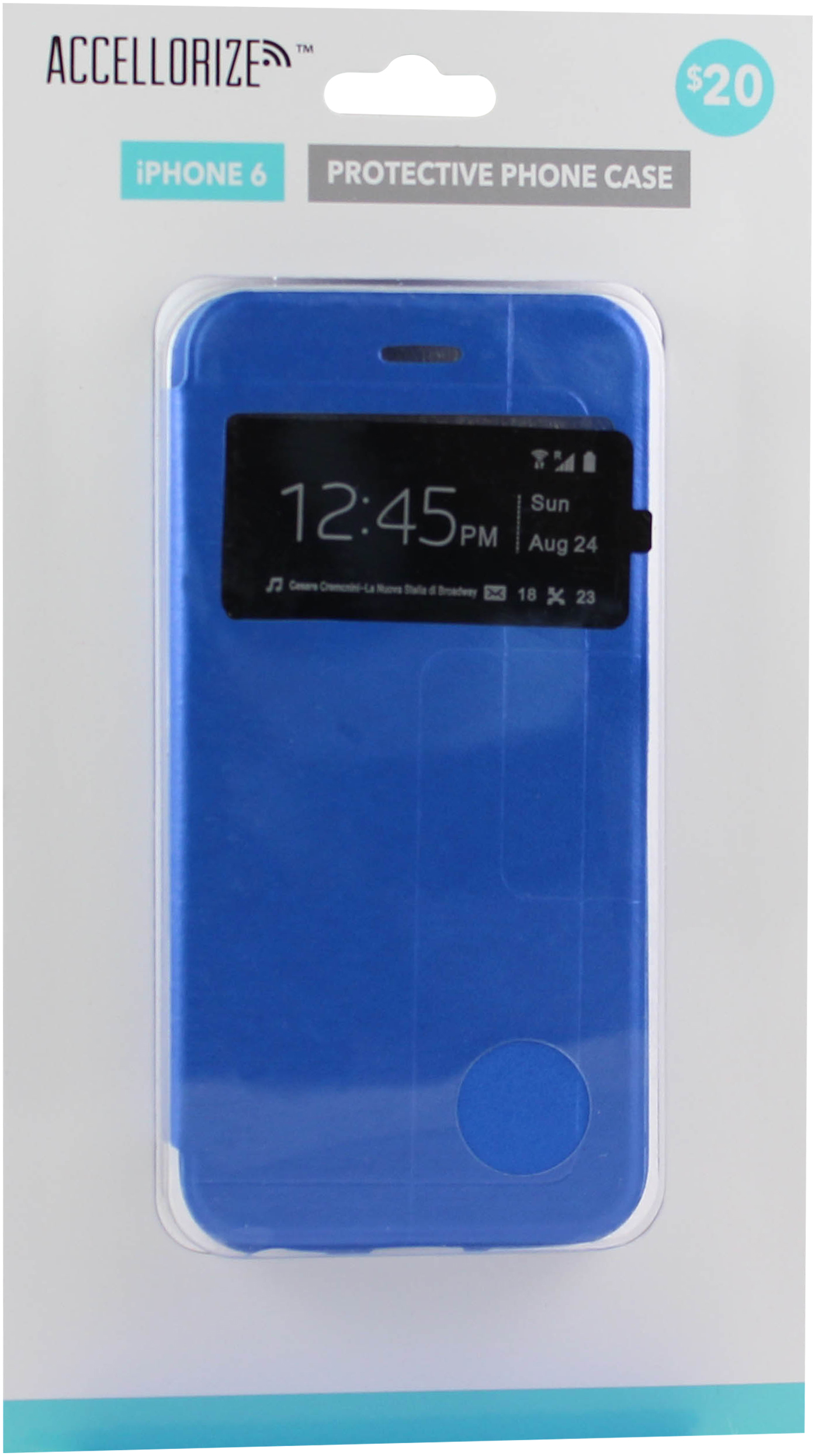 ACCELLORIZE 35016 BLUE PROTECTIVE CASE FOR IPHONE 6 MADE OF