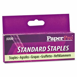 "Standard Staples, 1/4"" Leg Length, 5000/Box"