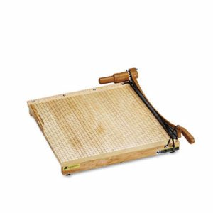 ClassicCut Ingento Solid Maple Paper Trimmer, 15 Sheets, Maple Base, 18 x 18