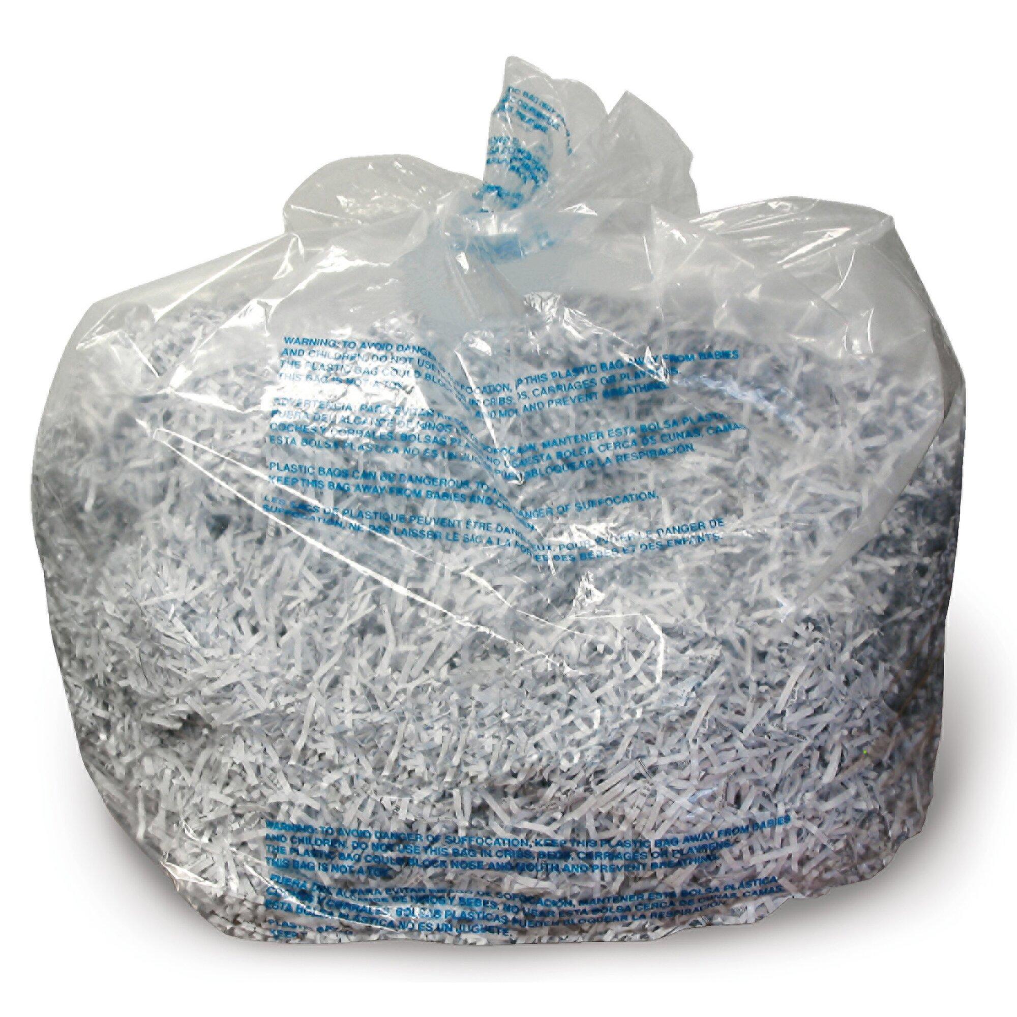 Shredder Bags, 30 gal Capacity, 25/BX