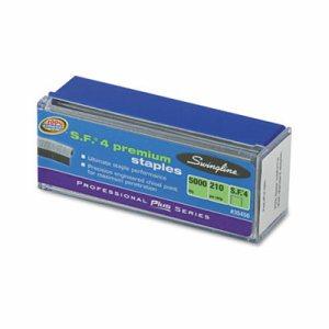 S.F. 4 Premium Chisel Point 210 Count Full-Strip Staples, 5000/Box