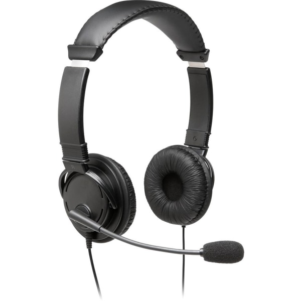 Hi-Fi Headphones with Microphone, Black