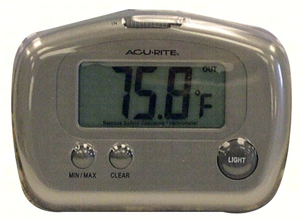 Digital Thermometer Wired In/Out