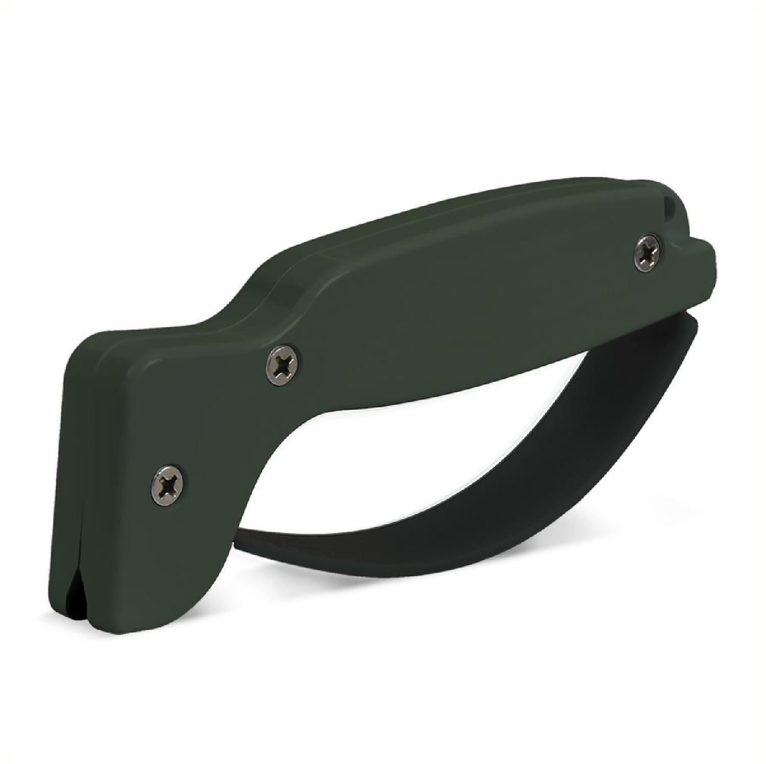 AccuSharp Knife and Tool Sharpener 008C Olive Drab Green