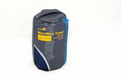 AceCamp Microfiber Towel Terry, SM, Blue