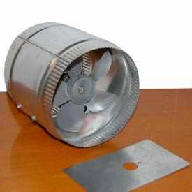 BOOSTER DUCT FAN 380 CFM 8 IN.