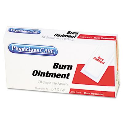 First Aid Kit Refill Burn Cream Packets, 10/Box