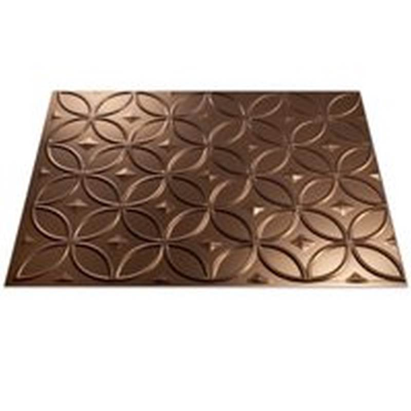 Fasade F71-26 Ring Backsplash Panel, 24 in L x 3/16 in T, Thermoplastic