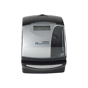 ES900 Digital Automatic 3-in-1 Machine, Silver and Black